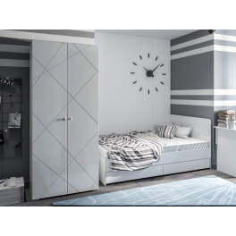 """Кровать с ящиками 1200 """"Абрис"""""""