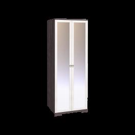 Бриз 12 Шкаф для одежды + ФАСАД Зеркало + Зеркало (Ост.)
