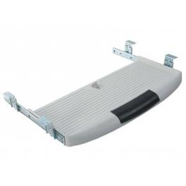 Полка под клавиатуру (белый пластик)